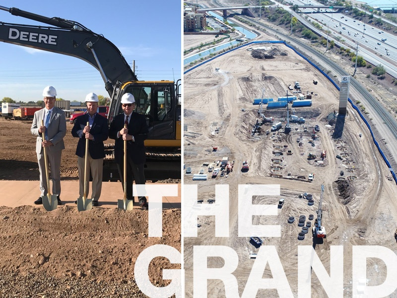 The Grand at Papago Park - Building Two Groundbreaking