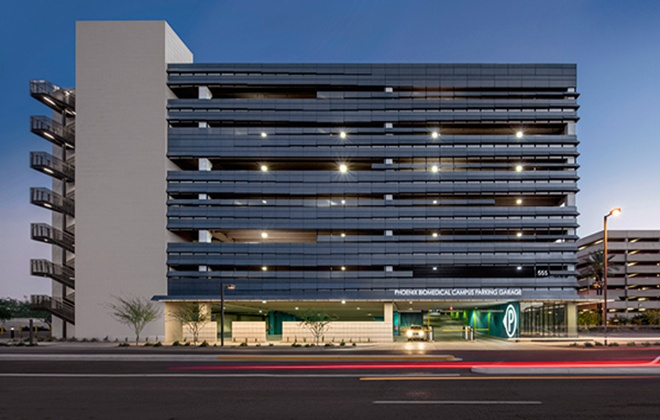 Phoenix Biomedical Campus Parking Garage