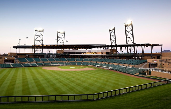 Diamondbacks Spring Training Facility at Salt River Fields